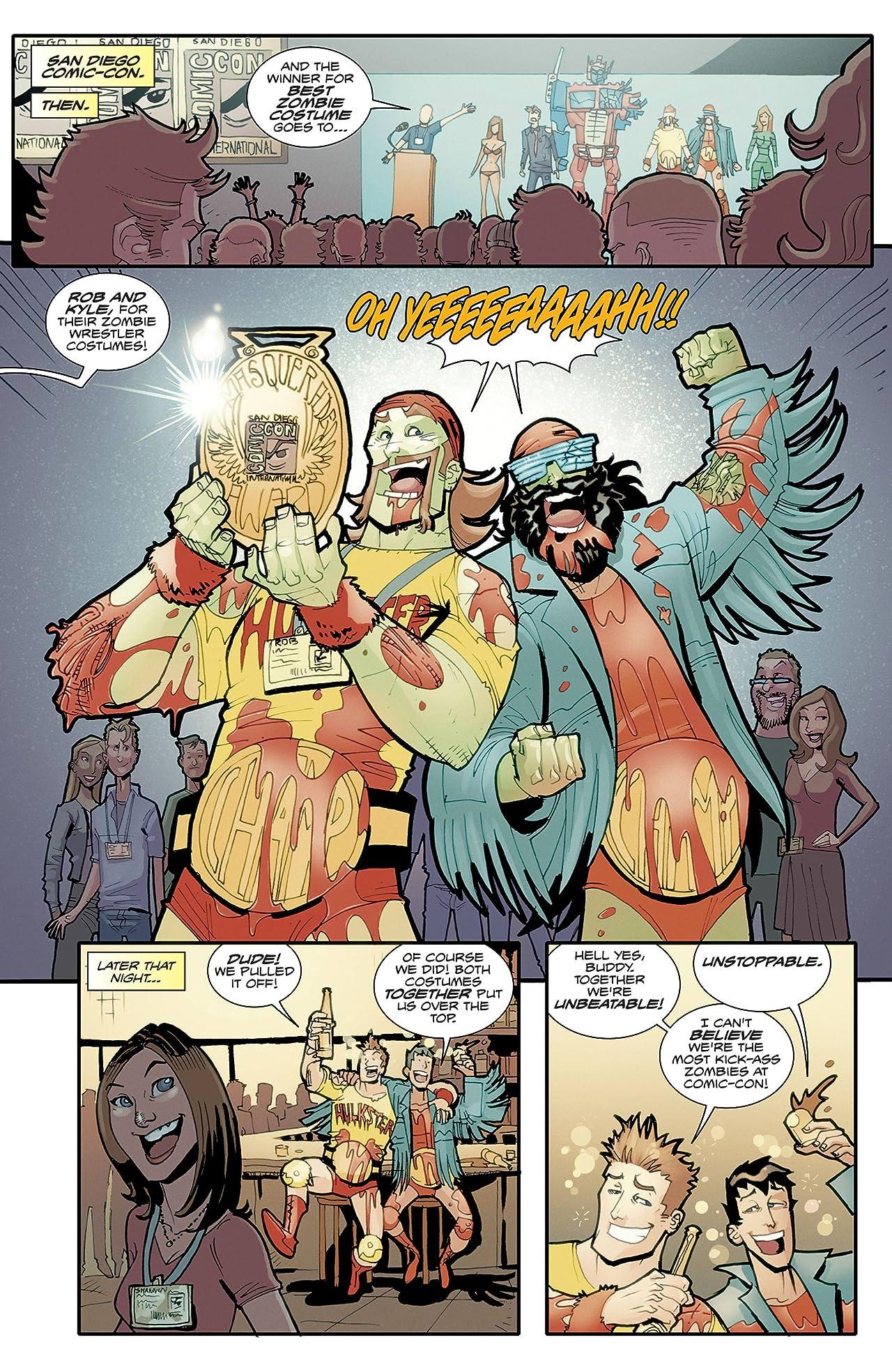 Fanboys vs. Zombies #3