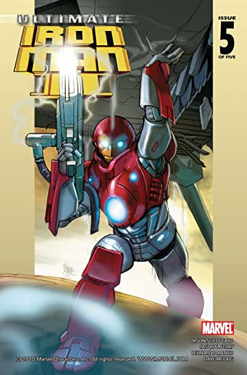 Ultimate Iron Man II #5 (of 5)