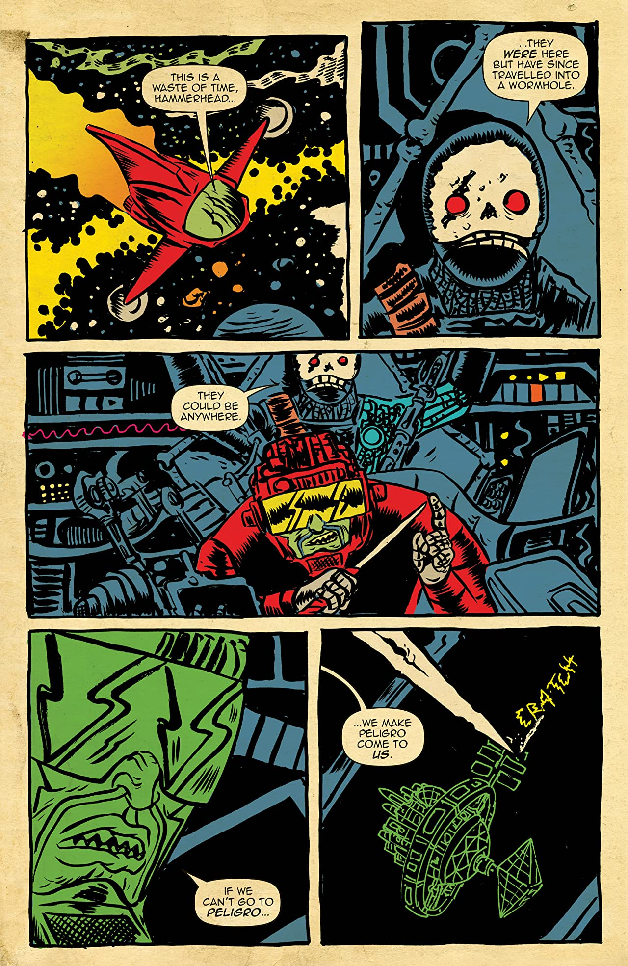 Space Riders #4 (of 4)