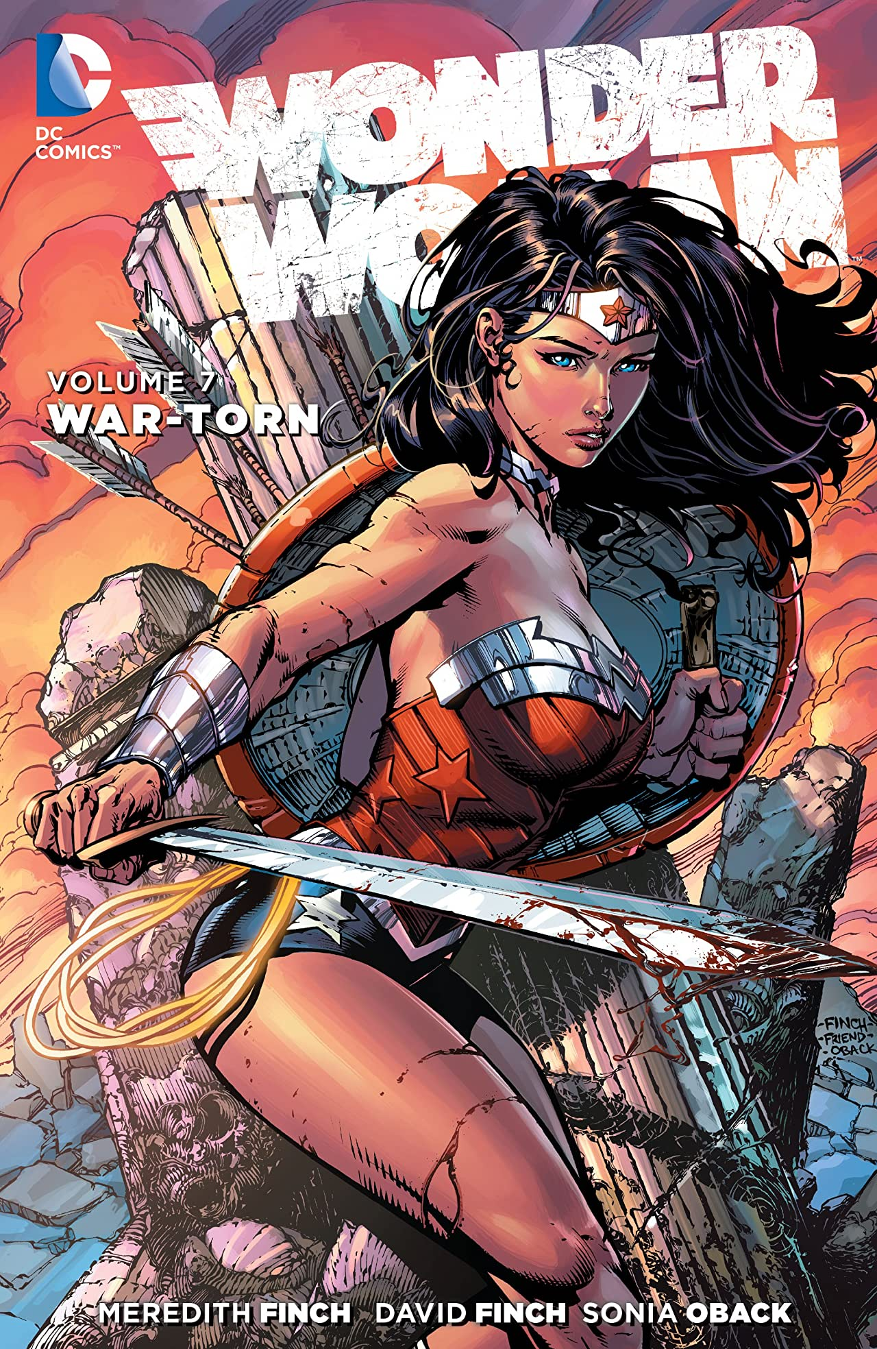 Wonder Woman (2011-2016) Vol. 7: War-Torn
