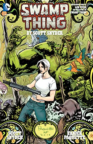 Swamp Thing By Scott Snyder: Deluxe Edition
