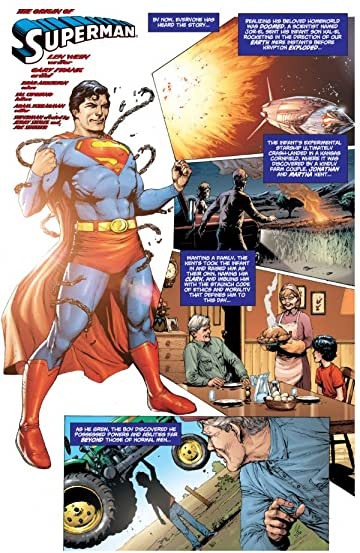 The Origin of Superman