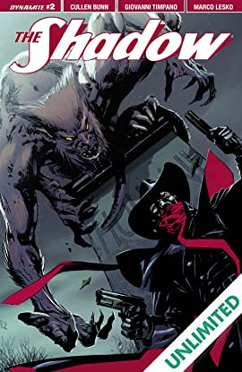 The Shadow Vol. 2 #2: Digital Exclusive Edition