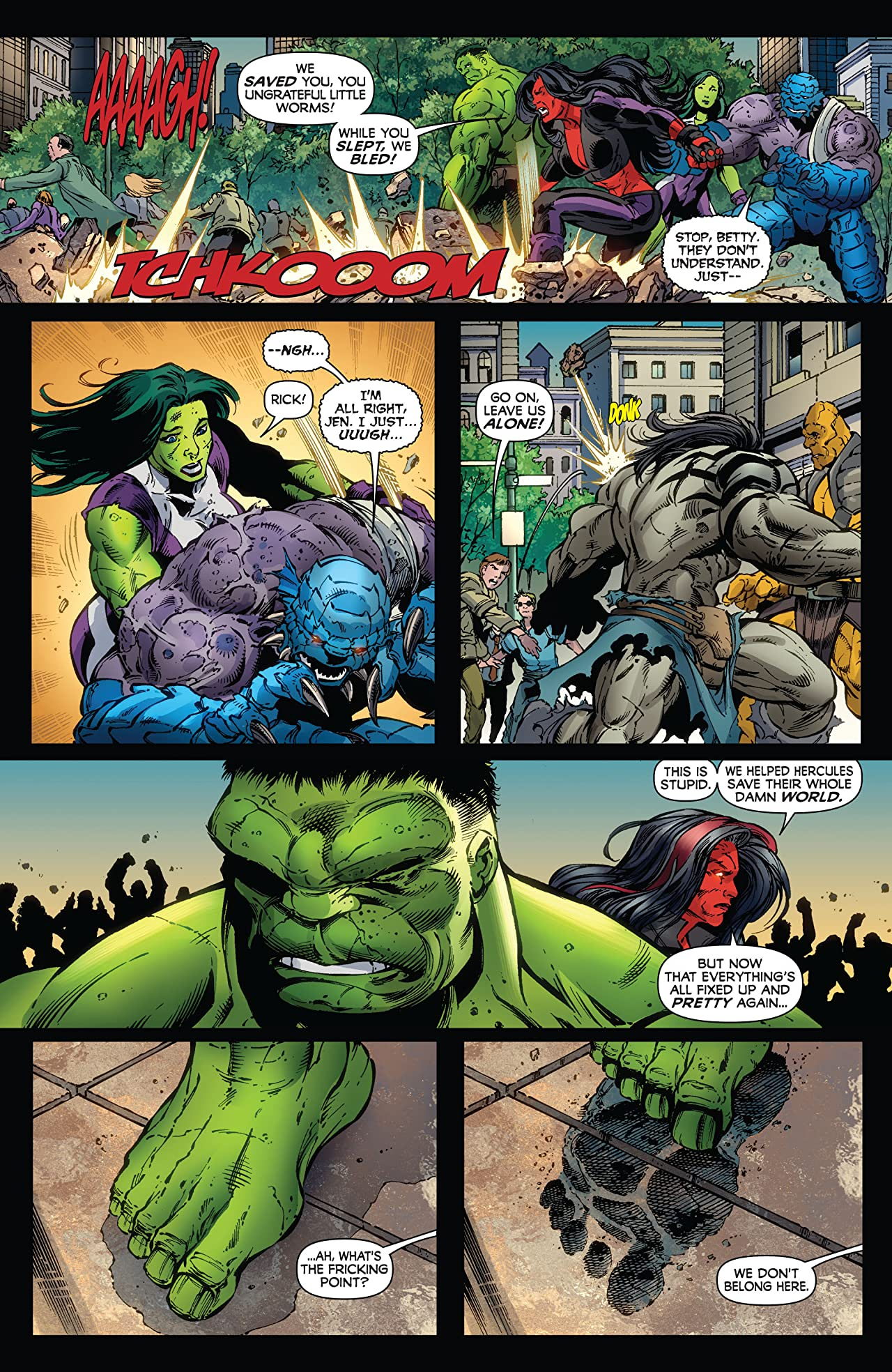 Incredible Hulks (2009-2011) #621