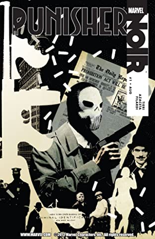 Punisher Noir No.1 (sur 4)