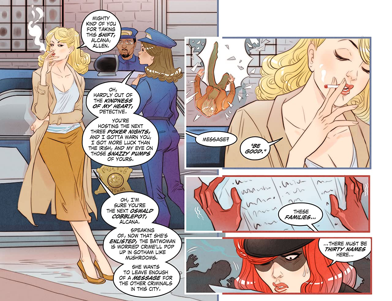 DC Comics: Bombshells (2015-2017) #8