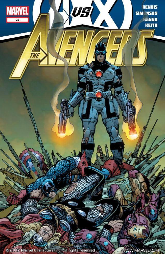 Avengers (2010-2012) #27