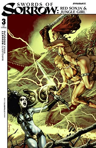 Swords of Sorrow: Red Sonja & Jungle Girl No.3 (sur 3): Digital Exclusive Edition