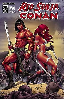 Red Sonja/Conan #2 (of 4): Digital Exclusive Edition