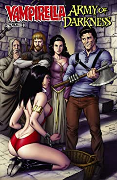 Vampirella/Army of Darkness #3 (of 4): Digital Exclusive Edition