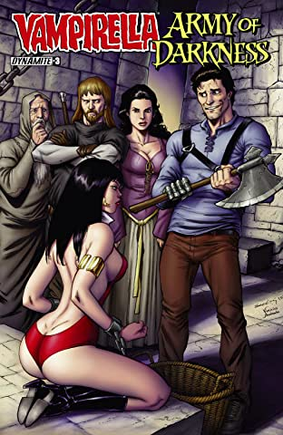Vampirella/Army of Darkness No.3 (sur 4): Digital Exclusive Edition