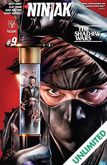 Ninjak (2015- ) #9: Digital Exclusives Edition