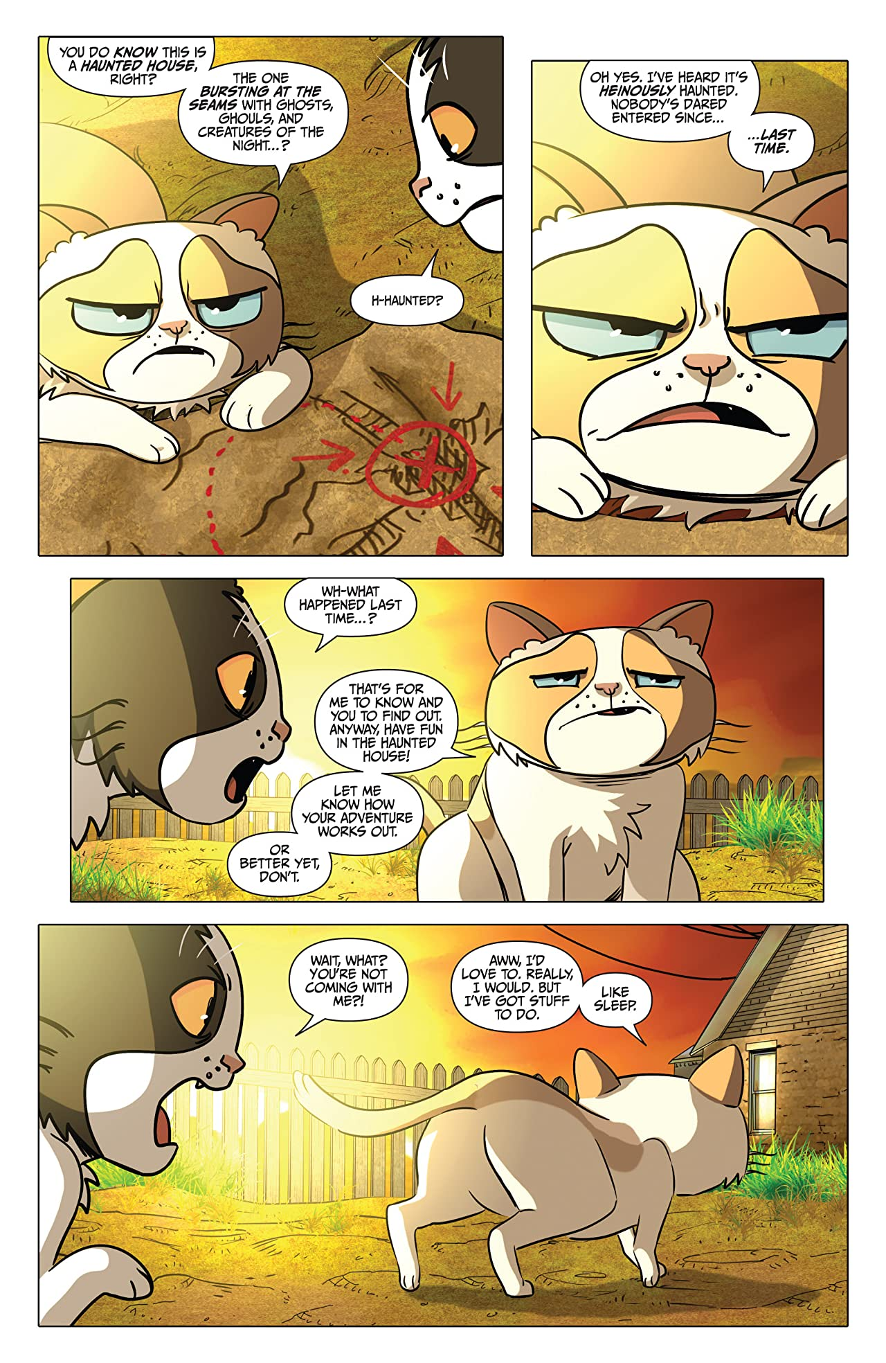 Grumpy Cat and Pokey Vol. 1 #1 (of 3): Digital Exclusive Edition