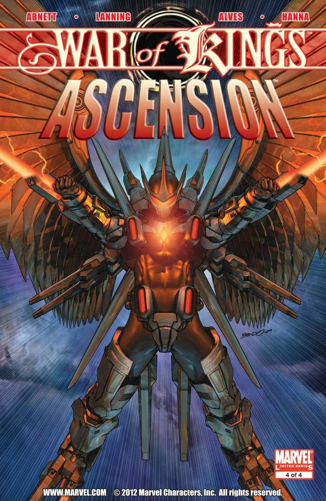 War of Kings: Ascension #4 (of 4)
