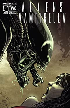Aliens/Vampirella #2 (of 6): Digital Exclusive Edition