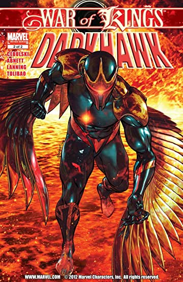 War of Kings: Darkhawk #2 (of 2)