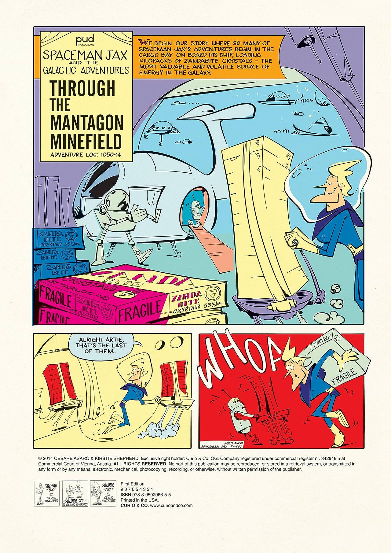 Spaceman Jax #1