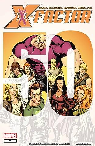 X-Factor (2005-2013) #50