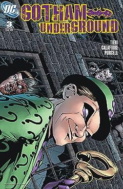 Gotham Underground (2007-2008) #3