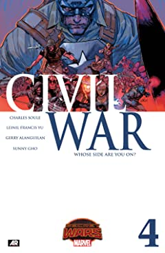 Civil War (2015) #4