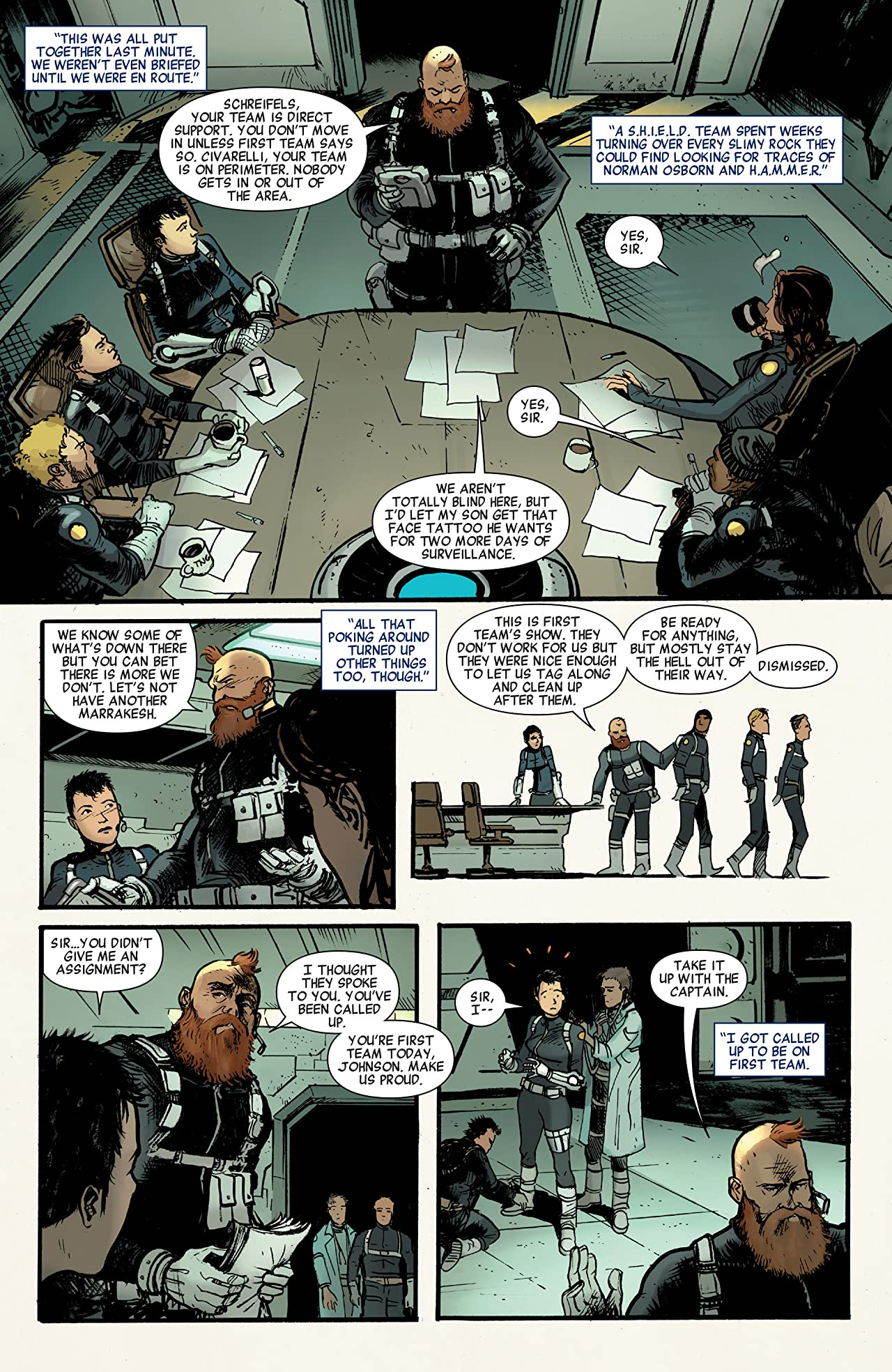 Quake: S.H.I.E.L.D. 50th Anniversary #1