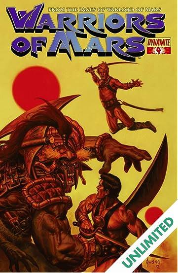 Warriors of Mars #4