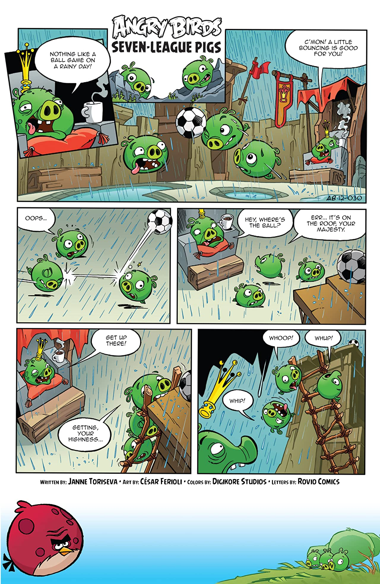 Angry Birds Comics Vol. 3: Sky High