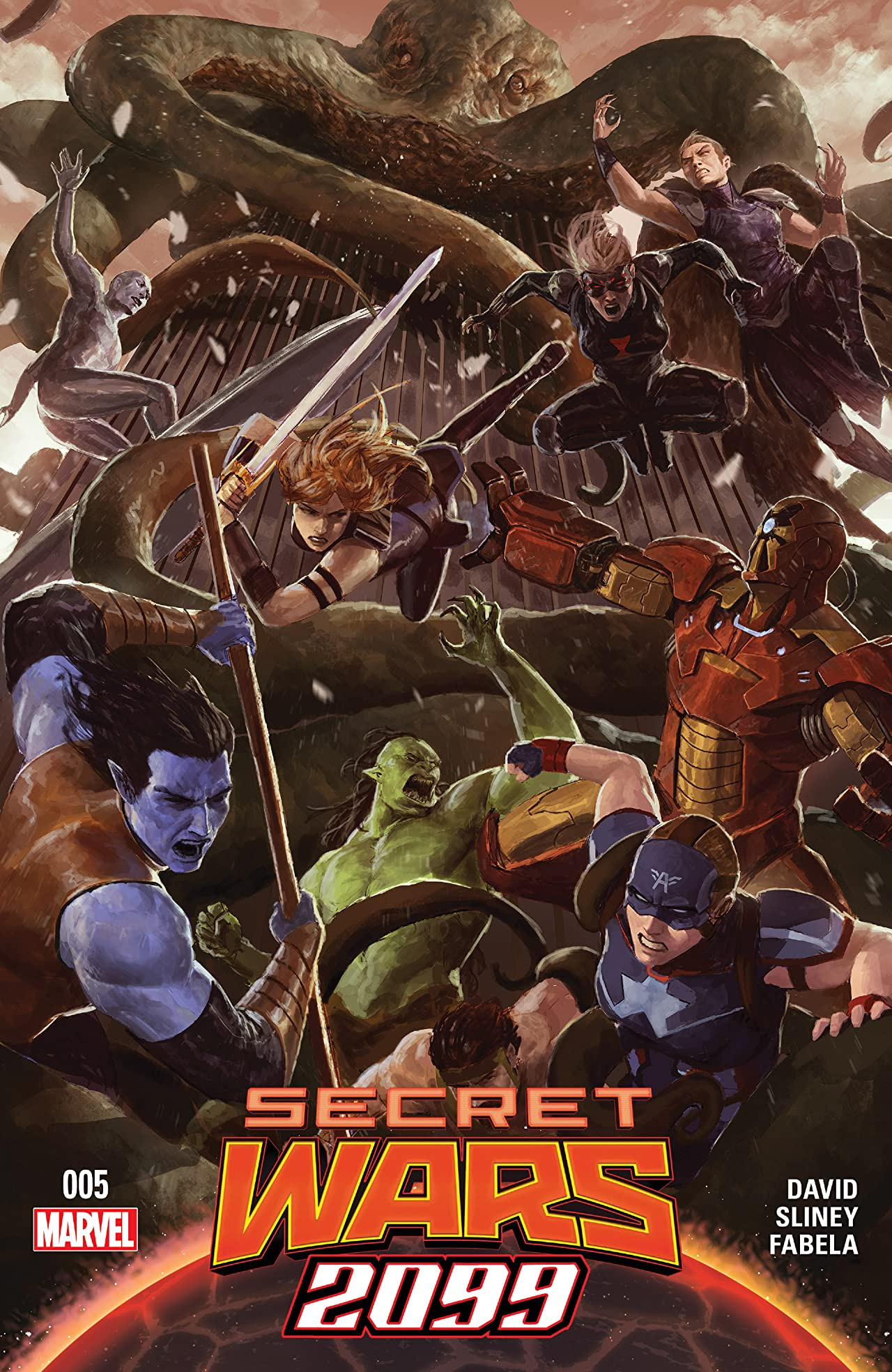 Secret Wars 2099 (2015) #5 (of 5)