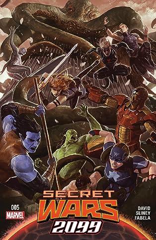 Secret Wars 2099 (2015) #5 (of 5)