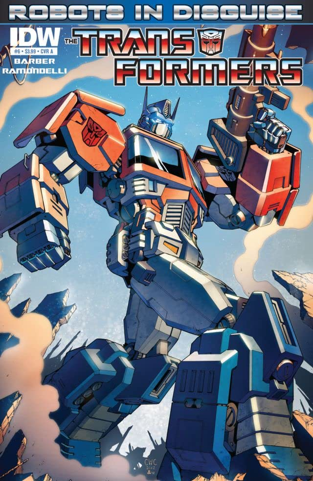 Transformers: Robots In Disguise (2011-) #6