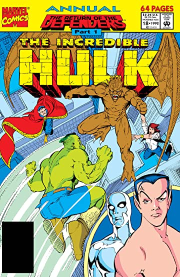 Incredible Hulk (1962-1999) Annual #18