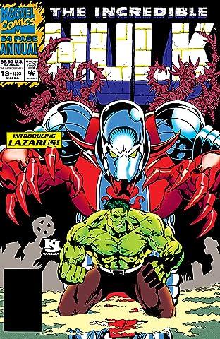 Incredible Hulk (1962-1999) Annual #19