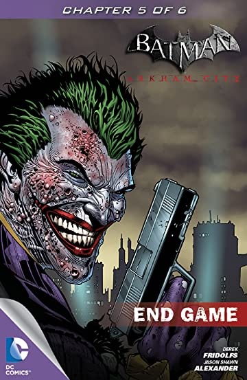Batman: Arkham City: End Game #5
