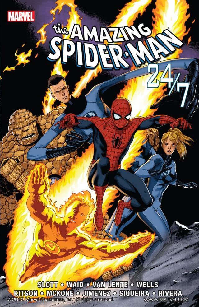 Spider-Man and the Fantastic Four!