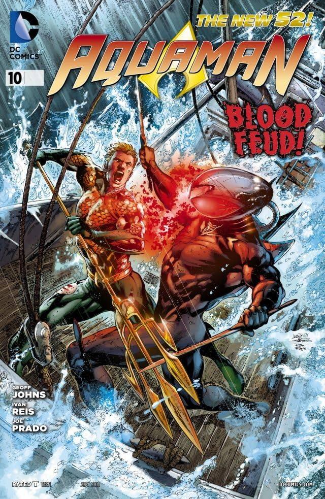 Aquaman (2011-) #10