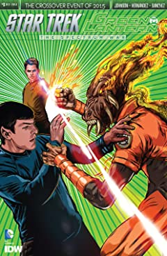 Star Trek/Green Lantern No.3 (sur 6)