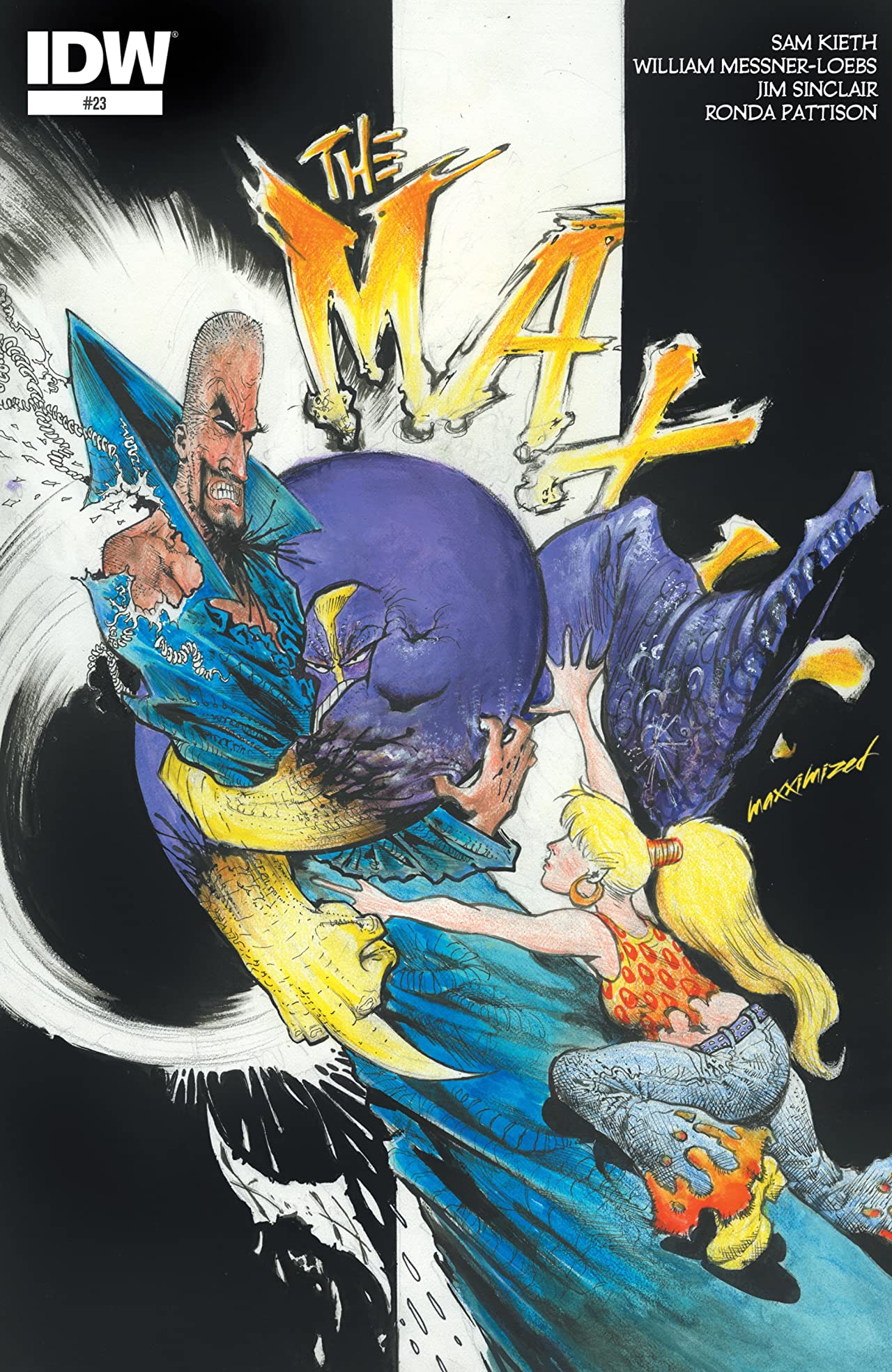The Maxx: Maxximized #23