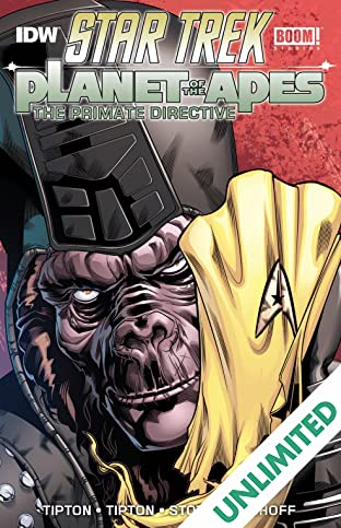 Star Trek / Planet of the Apes: The Primate Directive