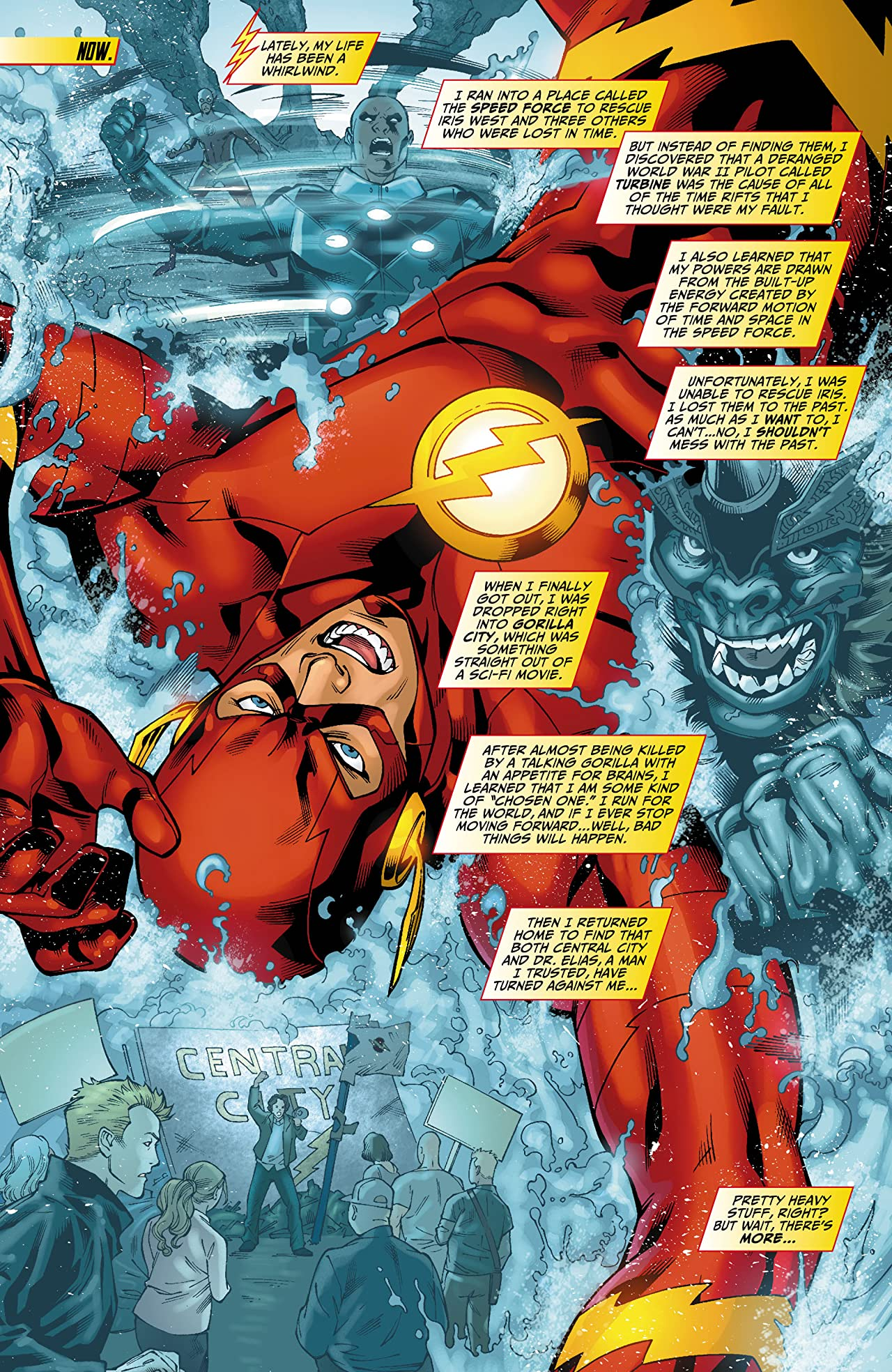 The Flash (2011-2016) #10