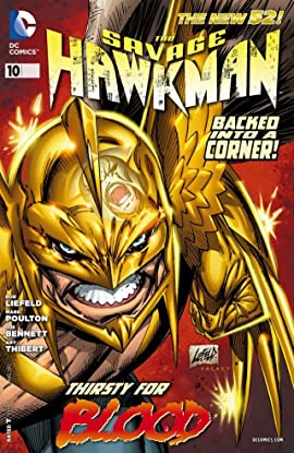 The Savage Hawkman (2011-2013) #10