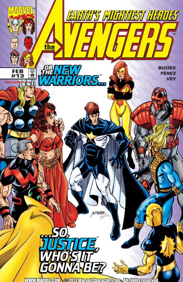 Avengers (1998-2004) #13