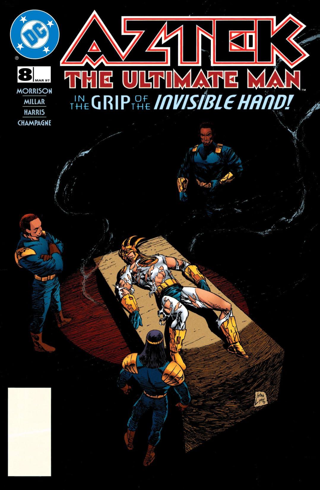 Aztek: The Ultimate Man (1996-1997) #8