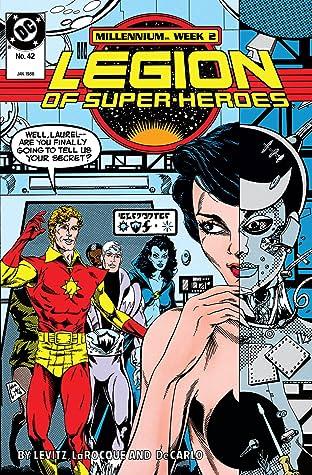 Legion of Super-Heroes (1984-1989) #42