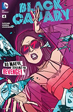 Black Canary (2015-2016) #4