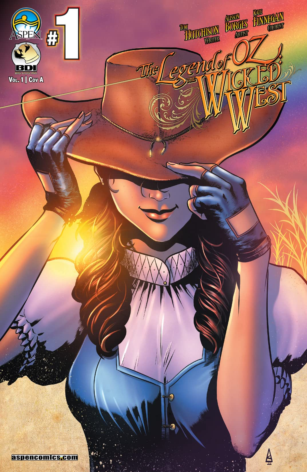 The Legend of Oz: The Wicked West #1