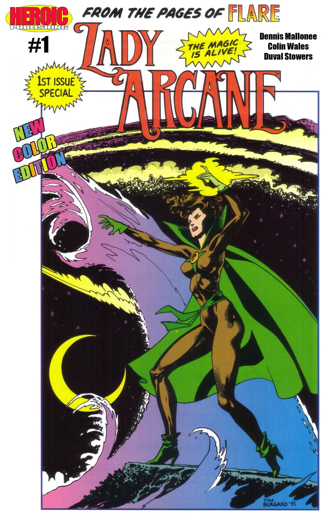 Lady Arcane #1