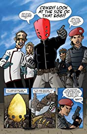 The Red Mask From Mars #2