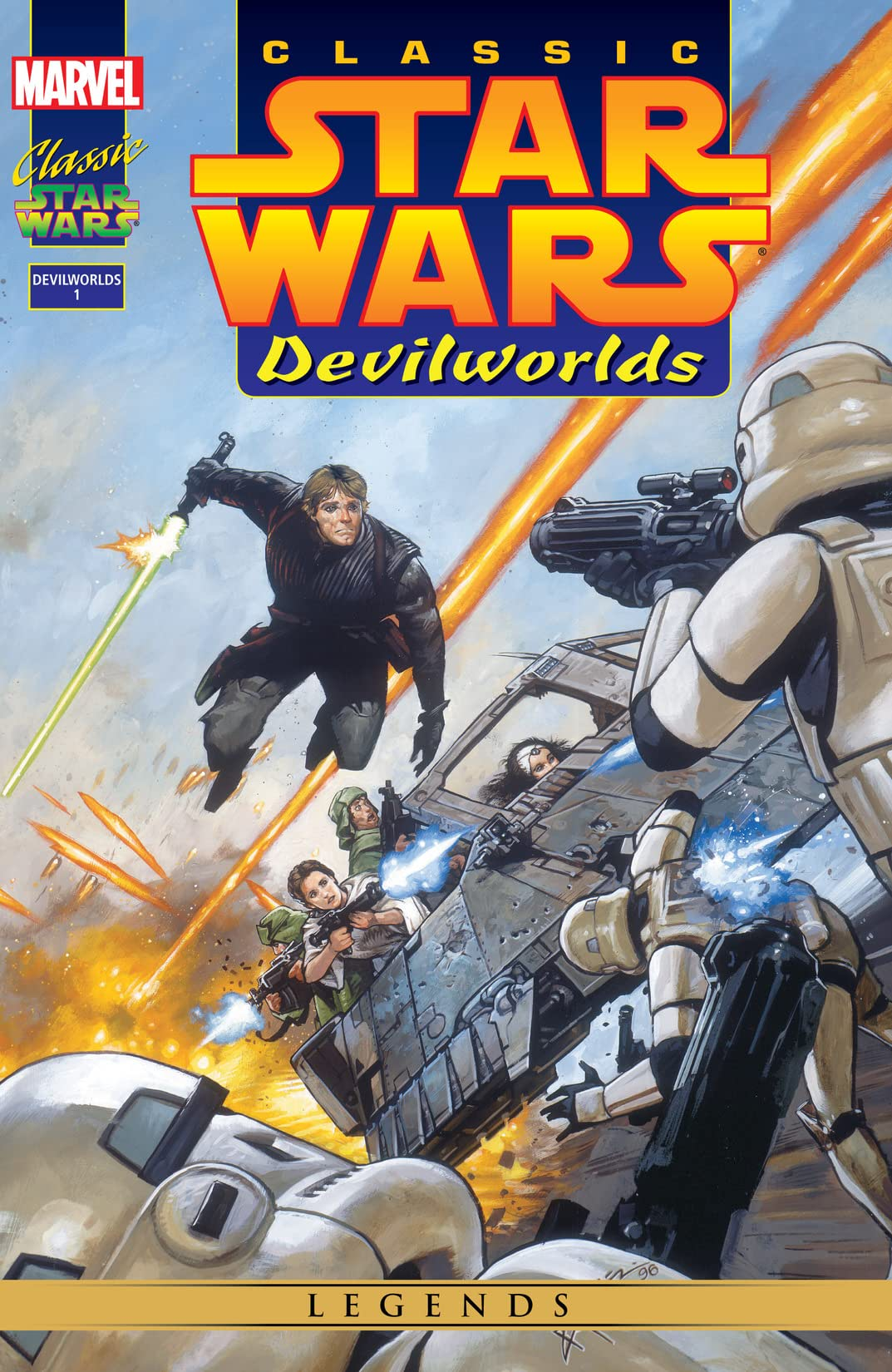 Classic Star Wars: Devilworlds (1996) #1 (of 2)