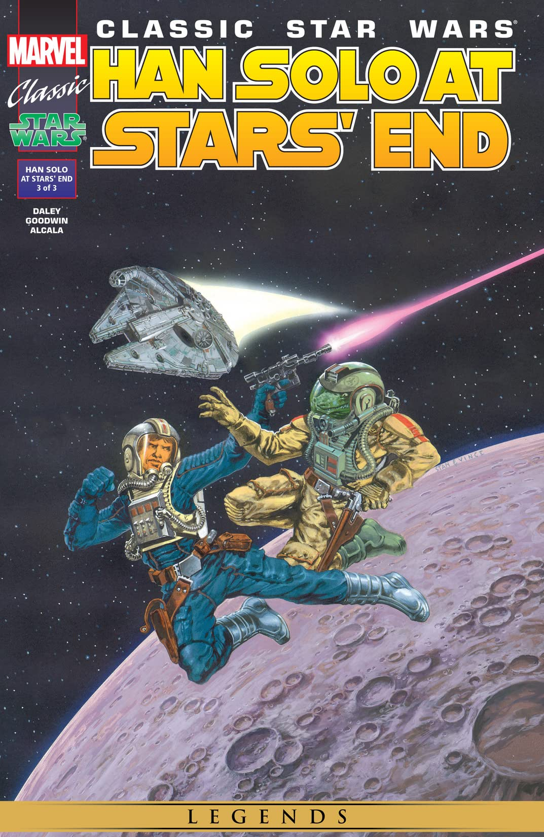 Classic Star Wars: Han Solo At Stars' End (1997) #3 (of 3)