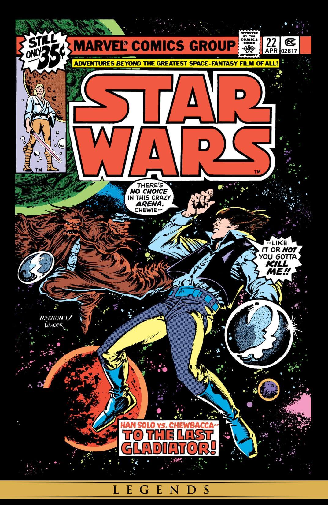 Star Wars (1977-1986) #22